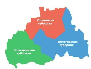 К середине XVIII века территория современного Коношского района относилась к четырем уездам трех северо-западных губерний