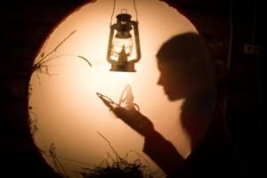 """Выставка одного стихотворения """"Зимний вечер на сеновале"""""""