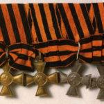 Георгиевские кресты I, II, III, IV степеней
