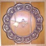 Часы настенные с циферблатом в виде знаков зодиака (КРКМ № 1856)