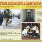 Обеспечение безопасности в общественных местах