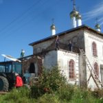 Восстановительные работы, 2012 г. (фото О. Кузнецовой (Бажуковой))