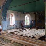 Восстановительные работы, 2016 г. (фото О. Кузнецовой (Бажуковой))