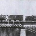 211 верста. Железнодорожный мост через речку Коноша