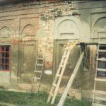 Ремонтные работы фасадов храма