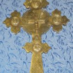 Напрестольный крест пасхальный. (КРКМ ОФ № 1172).