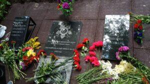 Открытие обелиска и присвоению статуса учтенного воинского захоронения в деревне Гора МО «Климовское»