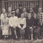 Коллектив ВЧД-9 1950-е гг. (Фото из фондов КРКМ)