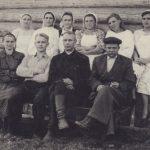 Работники райпищекомбината, август 1955 г. (Фото из фондов КРКМ)