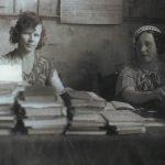 Сотрудники Коношской районной библиотеки (Фото из фондов КРКМ)