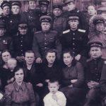 Коллектив Коношского райотдела милиции (конец 1940-х - начало 1950-х гг.) (Фото из фондов КРКМ)